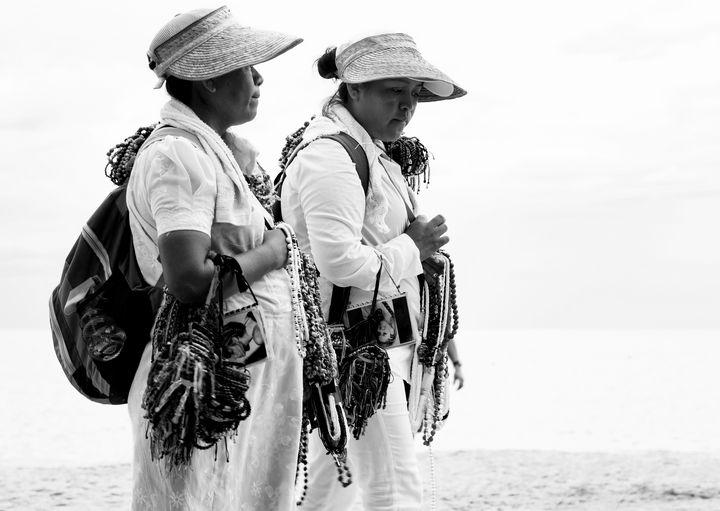 Los Muertos Beach Sellers - Amy Lynn Grover