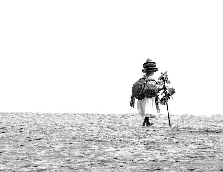Mexican Beach Seller - Amy Lynn Grover
