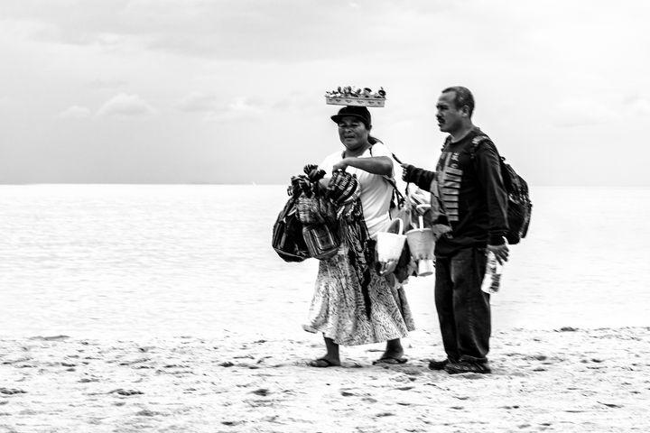 Beach Sellers - Amy Lynn Grover