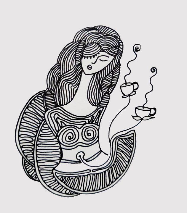 PMS Mood swings - meditation art