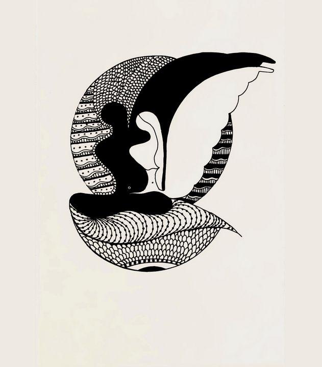 Companionship - meditation art