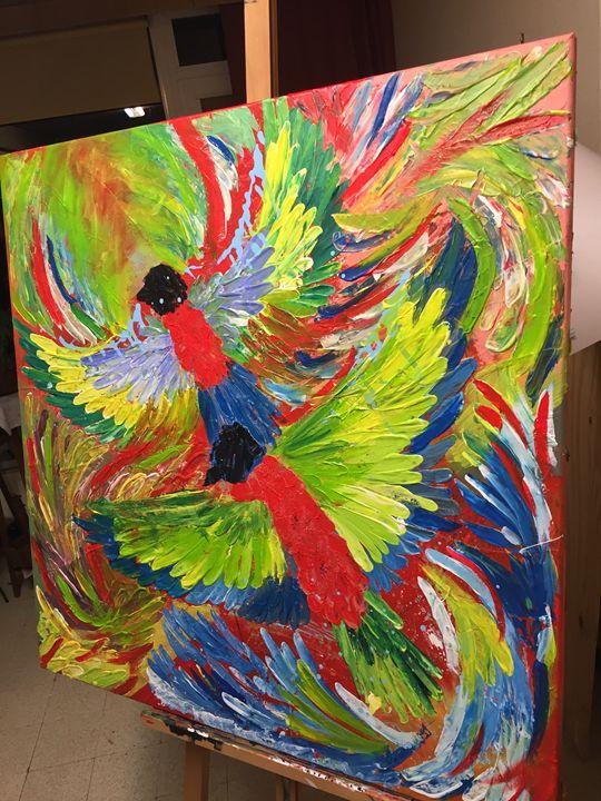 Flying colors - Natalia Samko
