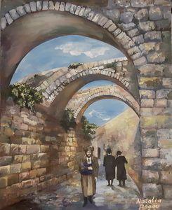 Alleys  in the Old City. Jerusalem