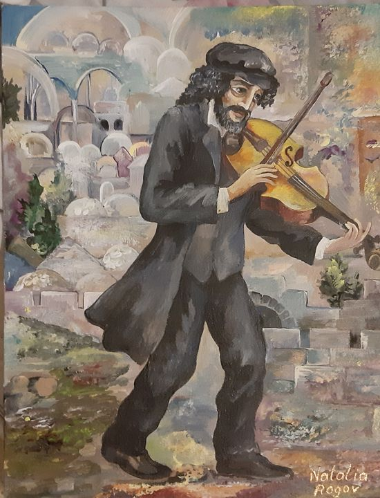 Jerusalem Melody - Natalia's Rogov Fine Art