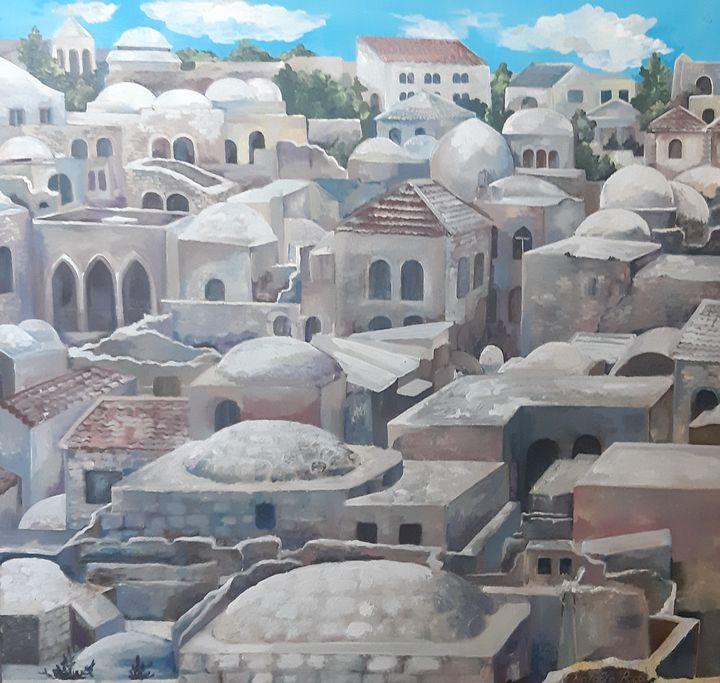The Jewish Quarter - Natalia's Rogov Fine Art