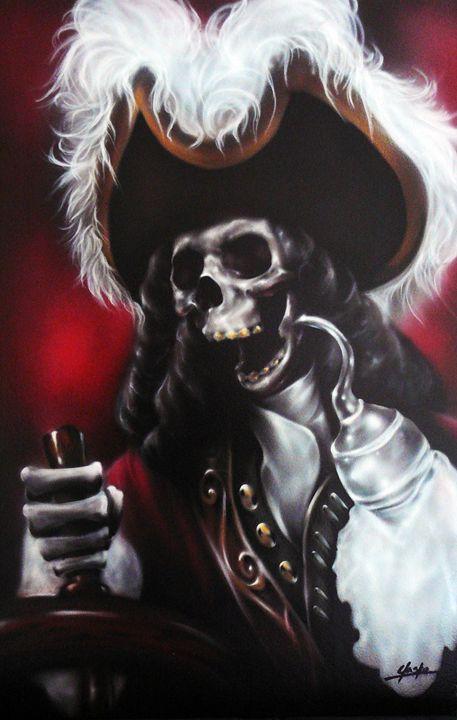 Pirate Airbrush Artwork Paintings Prints Fantasy
