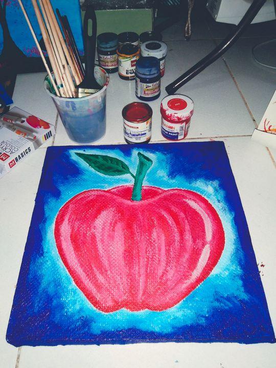 """""""apple"""" - Arnel's artwork"""