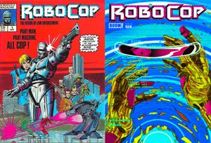 Robocop comic cover combo 1