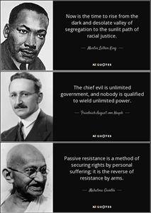 Resisting evil trio quote