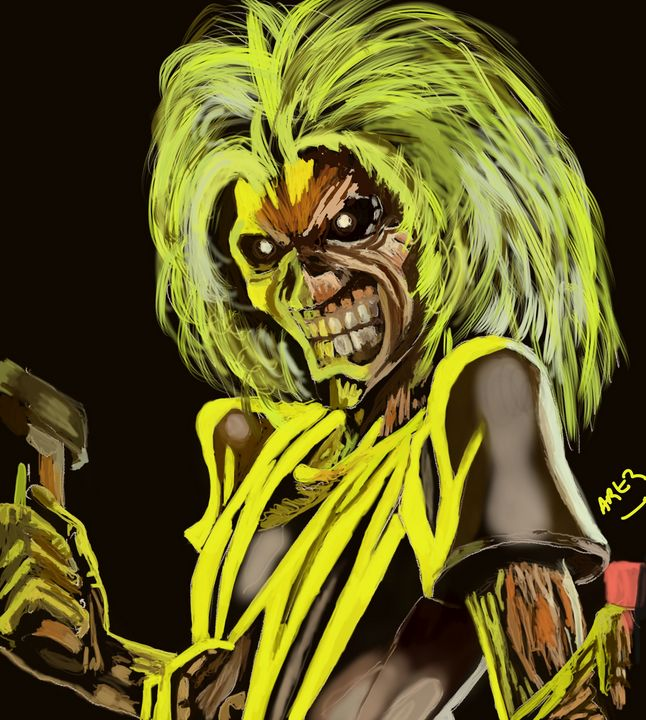 Eddie - Iron Maiden - Artz For Artz Sake