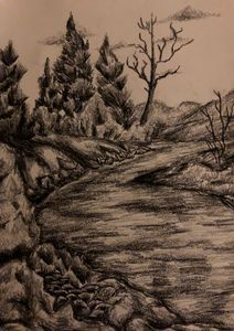 """"""" down by the stream """""""