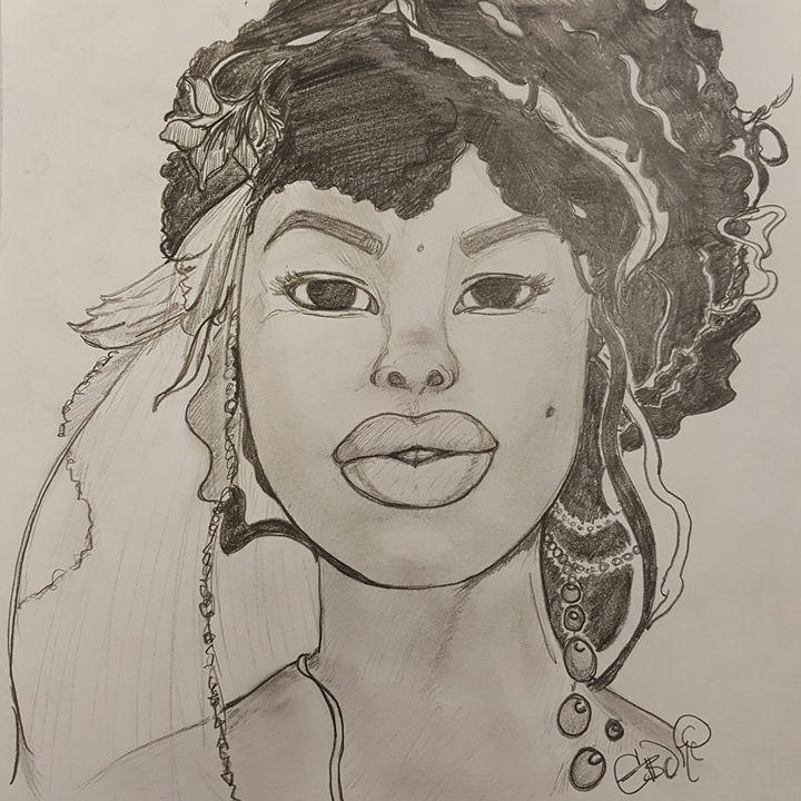 African Bride - Eboni Lobley Artistry