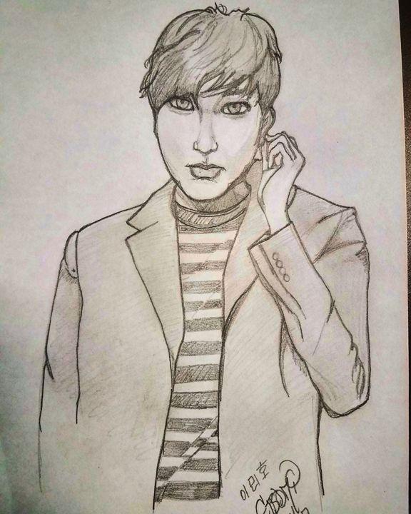 Lee Min Ho Pose1 - Eboni Lobley Artistry