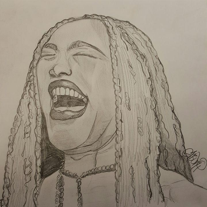 Angela Bassett's Laugh - Eboni Lobley Artistry