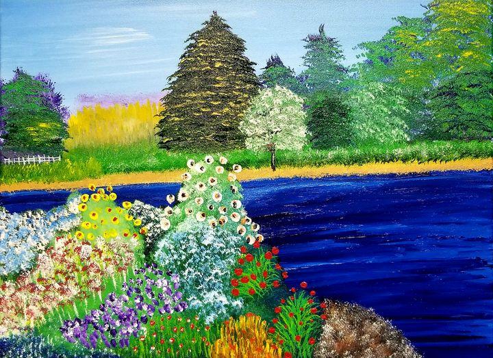 Flower Garden - The AM Art Gallery