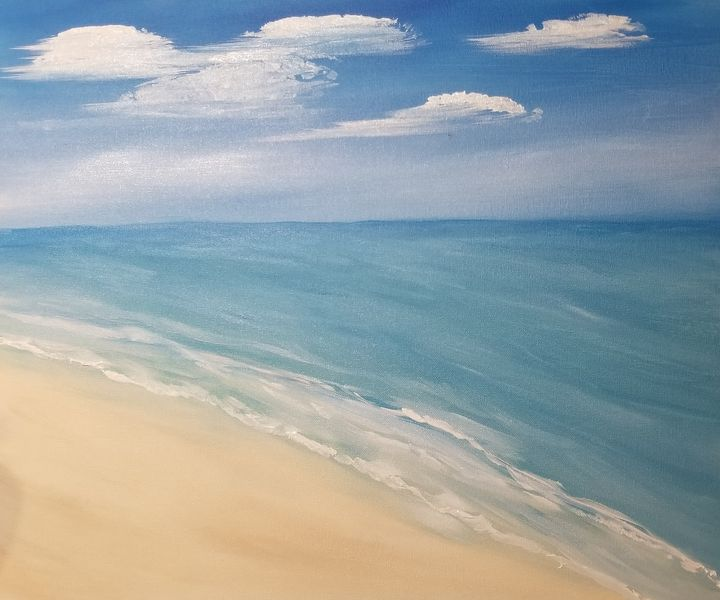 The Beach - The AM Art Gallery