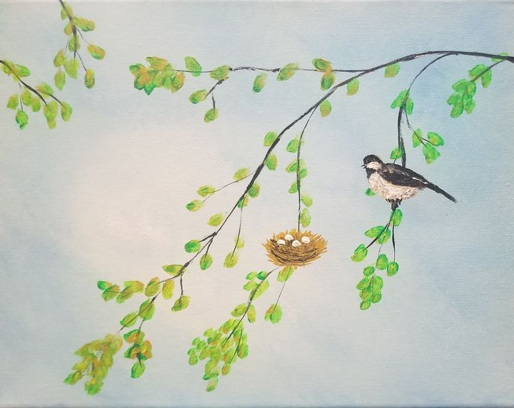 Momma Bird - The AM Art Gallery