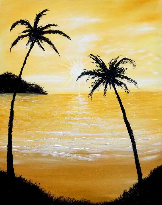 Golden Shores - The AM Art Gallery