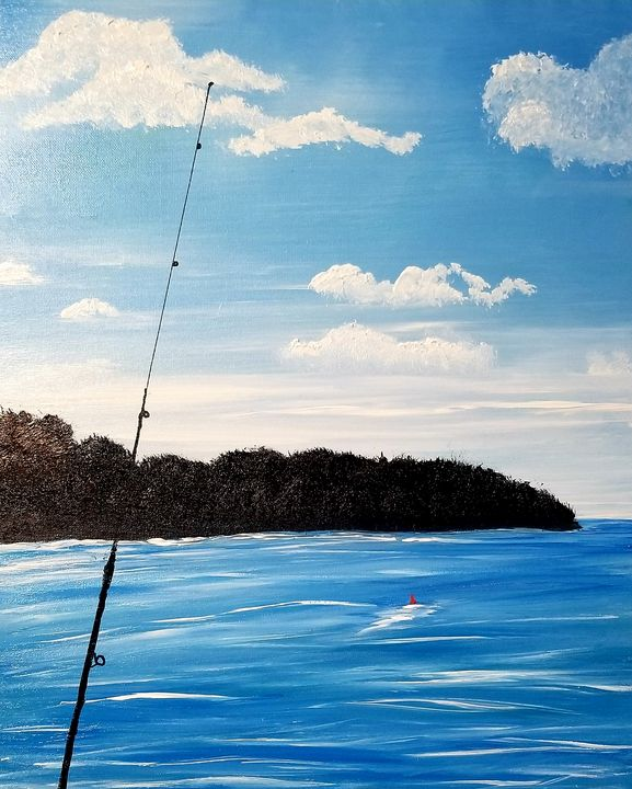 Gone Fishing - The AM Art Gallery