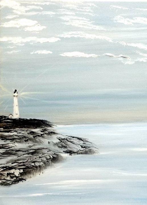 Lighthouse - The AM Art Gallery