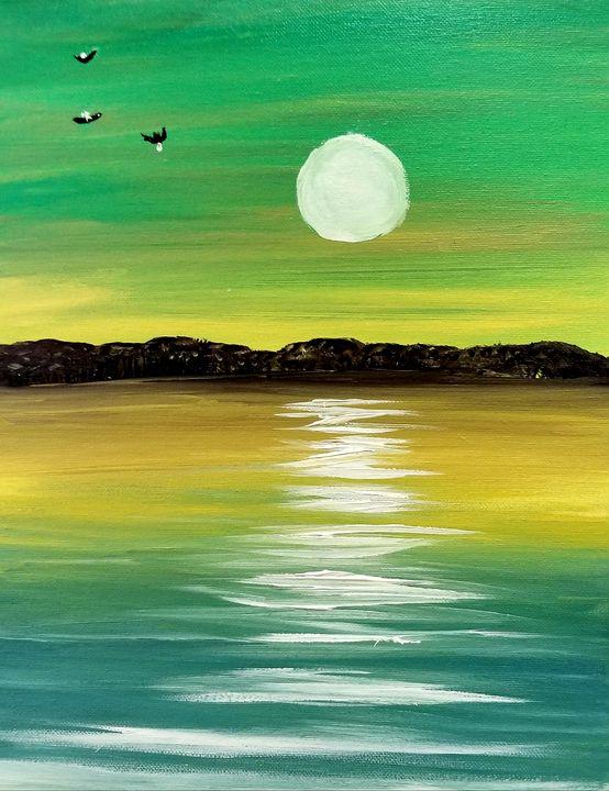 Emerald Island - The AM Art Gallery
