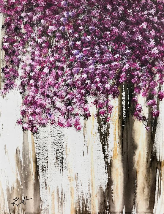Hanging Flowers - The AM Art Gallery