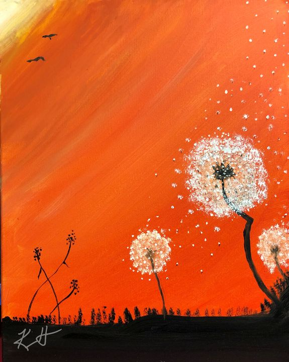 Wishes in the Wind - The AM Art Gallery