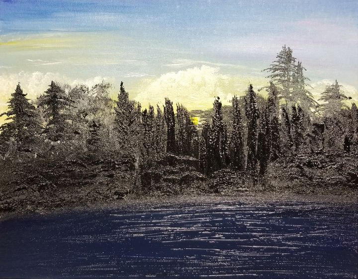 The Forest on the Lake - The AM Art Gallery