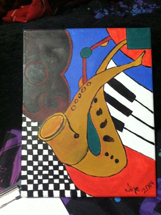 Saxophones - Tina Marie