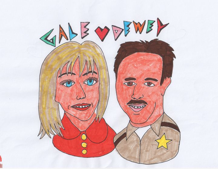 Gale and Dewey from Scream - Just Katie
