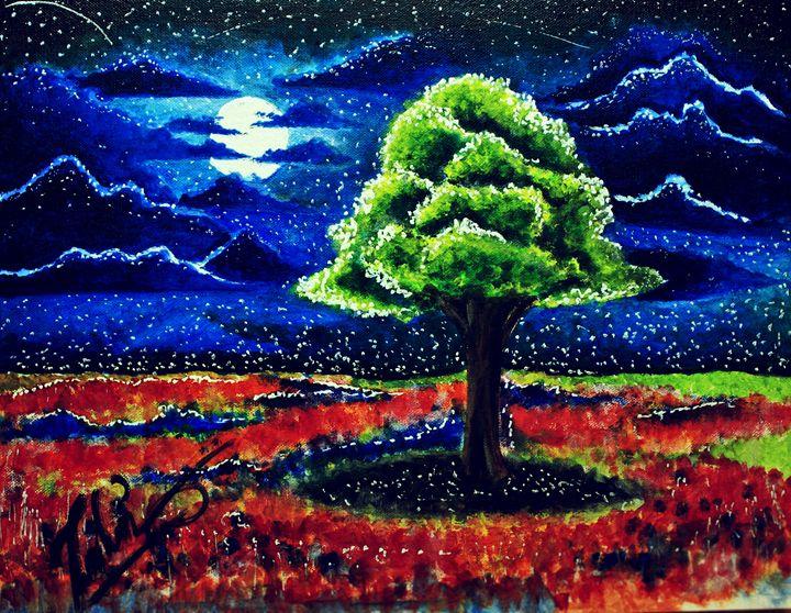 Starry night - Zeeshan K Ansari