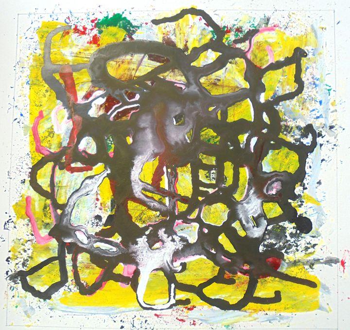 abstract  painting - prakriti art