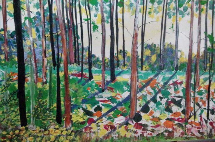 forest - prakriti art