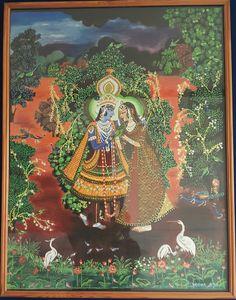 Beautiful love of Radha Krishna