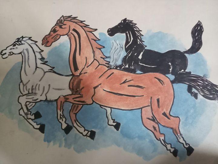 Horses - ABHISHEK TIWARI