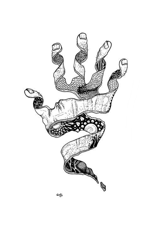 Mystic Hand - erto arts