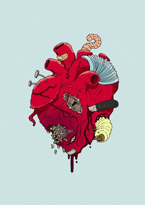 healing heart - erto arts