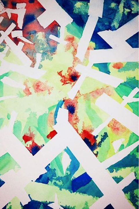 Abstract Color - Hailey's Artistry