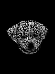 Dog Art Typography Quote 1