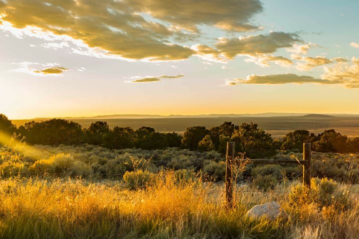 Canyon Sunset - Photo Art
