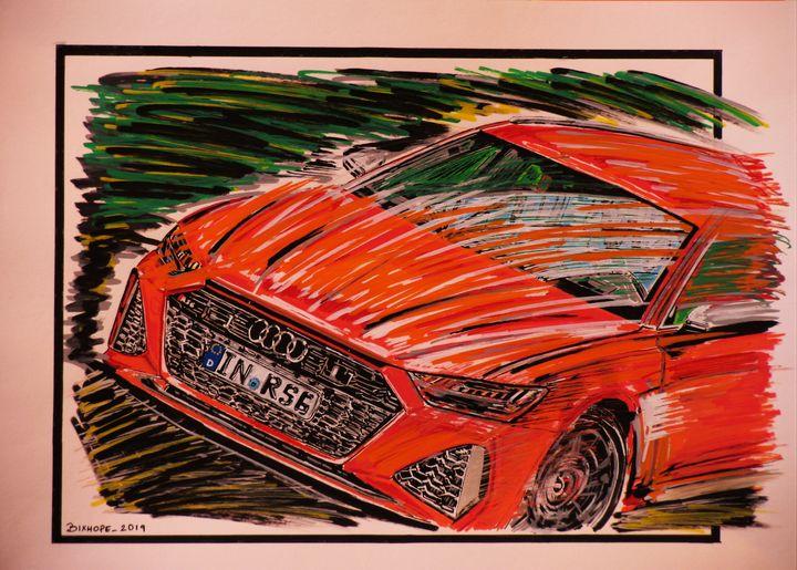 NEW AUDI RS6 AVANT 2020 - bixhope_Art