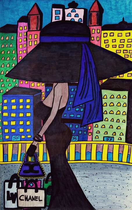 Handmade Art Illustration - Reyna Maria Galeriya