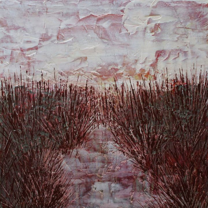 Winter Frost #163 - Textured Art Gallery
