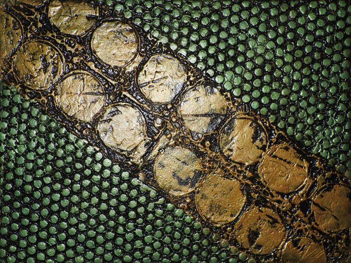 Metallic Gasket No.166 - Textured Art Gallery