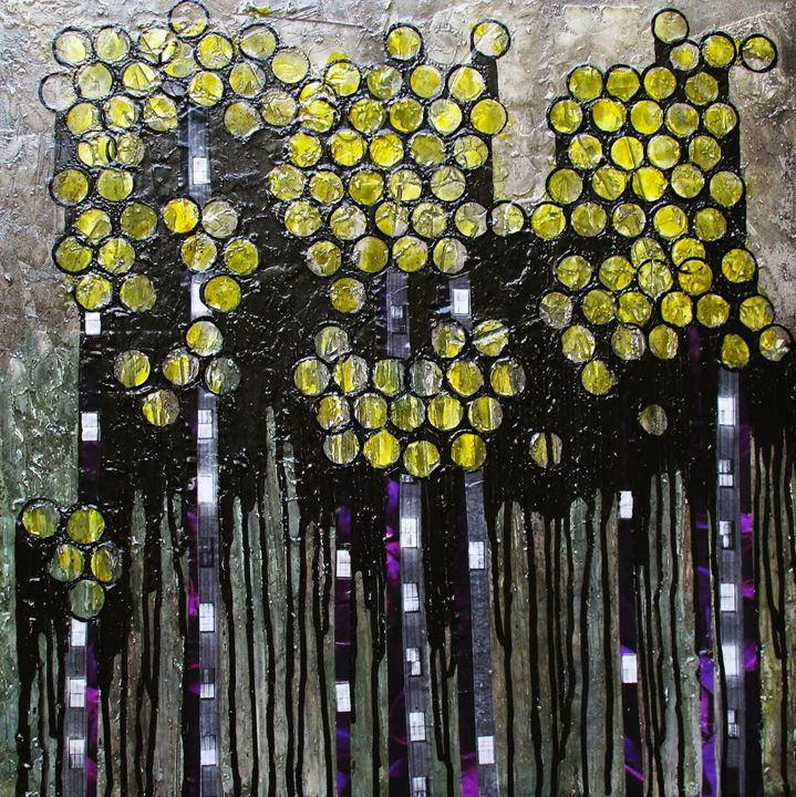 City Lights #370 - Textured Art Gallery