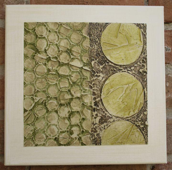 Framed Series #401 - Textured Art Gallery