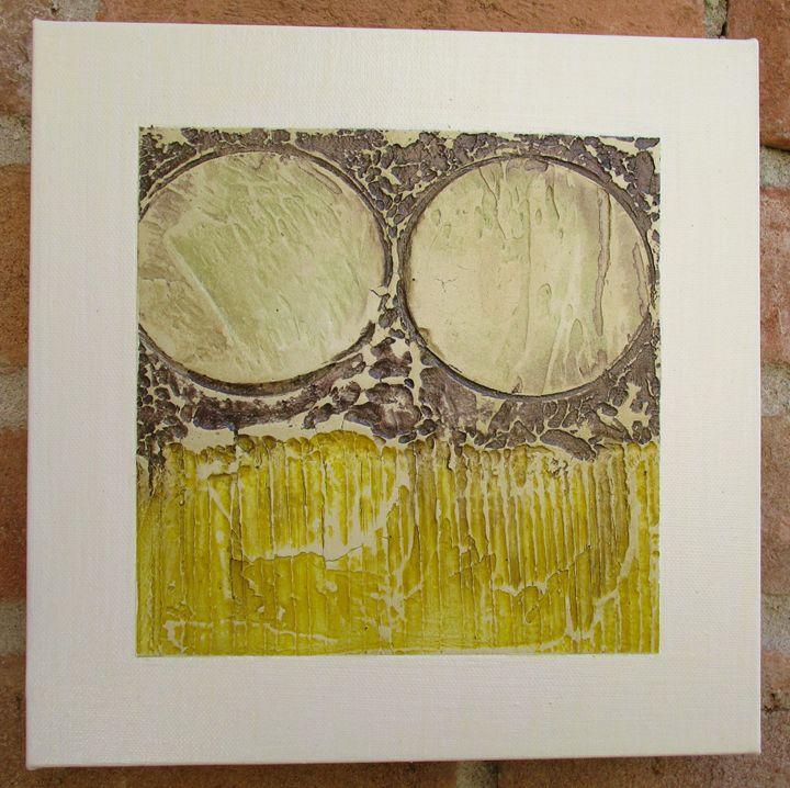 Framed Series #402 - Textured Art Gallery