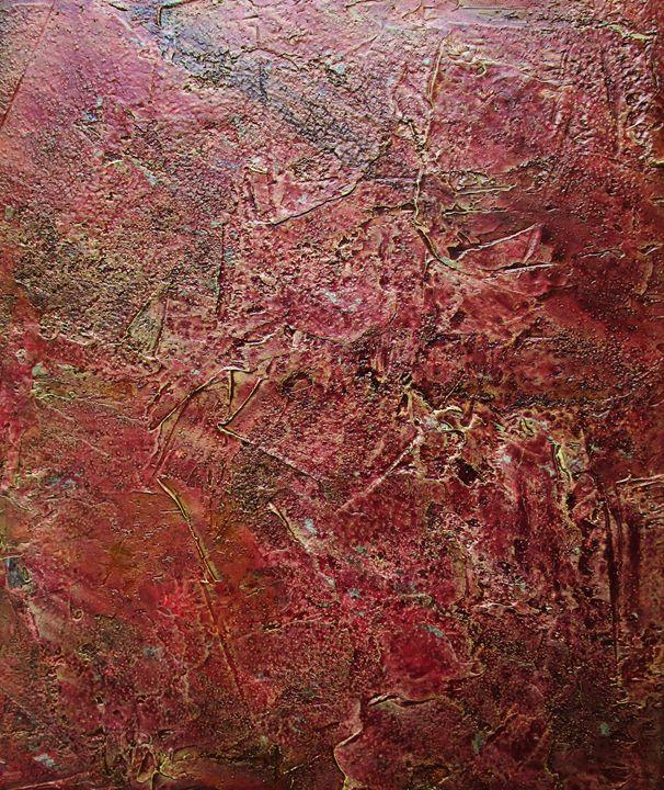 Cherry Mocha #379 - Textured Art Gallery