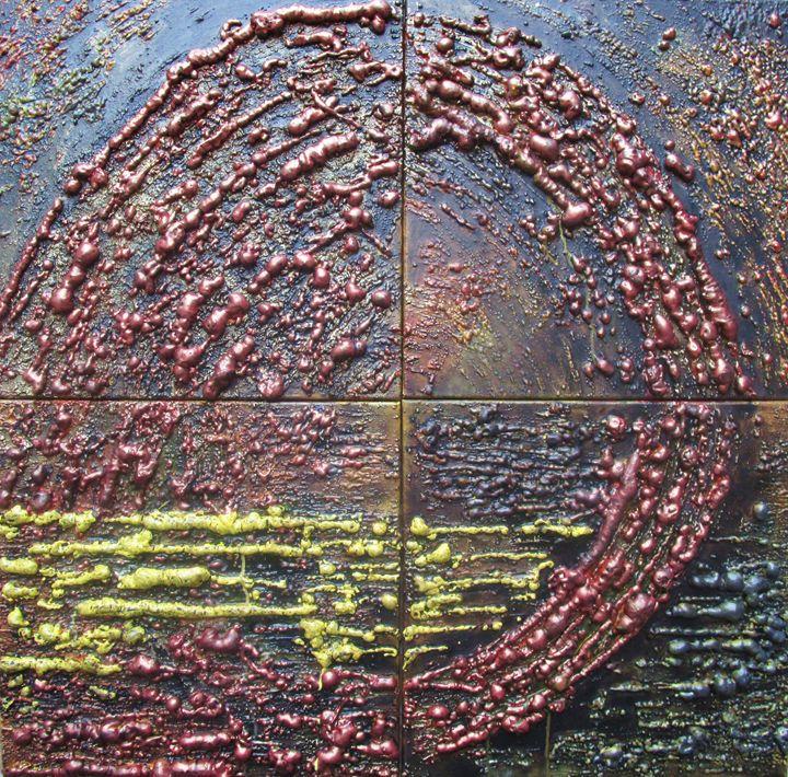 Q - Textured Art Gallery