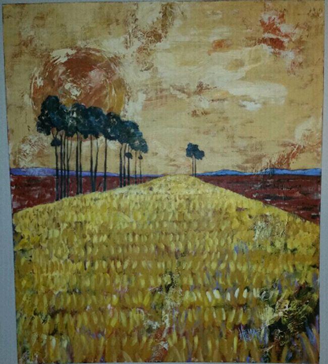 Heila van der Merwe oil on canvas 04 - Bernard Kruger